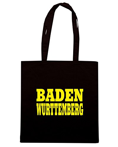 T-Shirtshock - Borsa Shopping WC0845 BADEN WURTTEMBERG GERMANY LAND CITY Nero