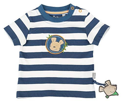 Sigikid Jungen, Baby T-Shirt, Blau (Dark Denim 279), (Herstellergröße: 92) - Geschenke Kids Dark T-shirt