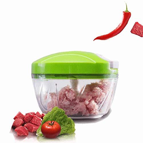 BZAHW Gemüse Lebensmittel Chopper Hand Schnelle Veggie Fleisch Chopper Shredder Slicer Cutter - Hand Fleisch Chopper