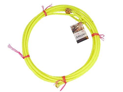 o Kid Rope Diverse Farben geflochten oder gedreht Neongelb ()
