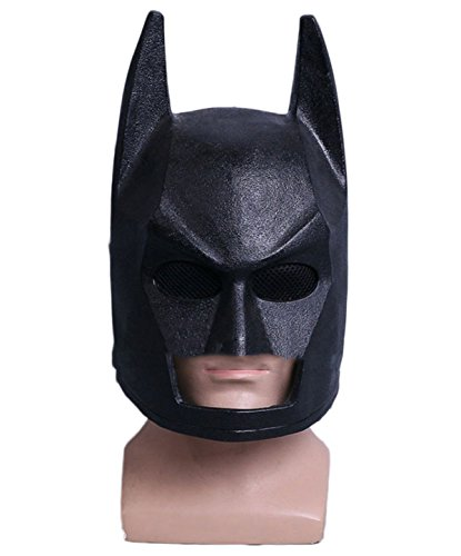 Helm Maske Cosplay Halloween Cos Maske Helm Requisiten,LegoBatmanHelmet-OneSize (Halloween-cos)