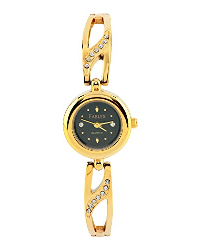 Fablex FBX12177GD  Analog Watch For Girls