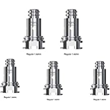 SMOK Nord Coil de repuesto 5pcs - 1.4ohm Regular Coil for MTL Vaping for SMOK