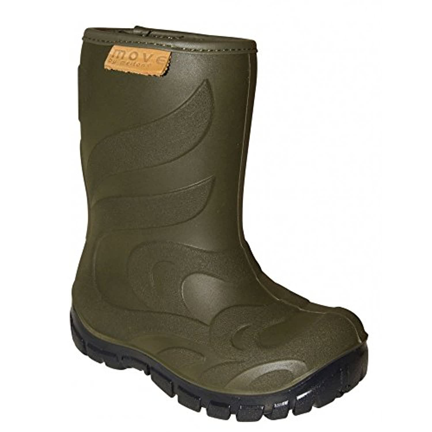 MOVE Move Thermo Boots Olive, Warm lined lightweight kids boot EU 24 /APPROX UK 7