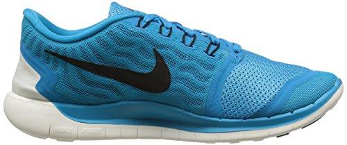 Nike Free 5.0, Chaussures de Running Compétition Homme Bleu (blau)