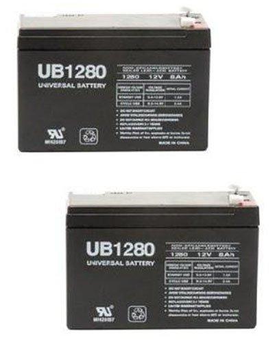 12V 8Ah SLA Akku ersetzt wka12–8F2djw12–8HD tph12080F2–2Pack