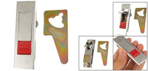 sourcingmap® Elektrische Schrank, Metall, Rot, mit Pop up Wings-Schloss