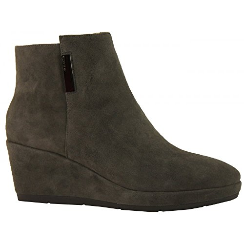 J B Martin Wedged Ankle Boot Zelba Grey Suede
