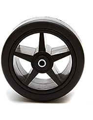Nouveau style de roue avant pour tout PowaKaddy trolleys. Livré avec roulements à billes et barre d'espacement