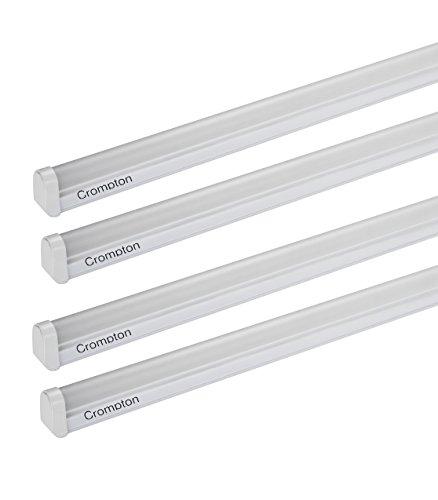Crompton LDDR20-CDL Dazzle Ray 20-Watt LED Batten (Pack of 4, Cool Day Light)