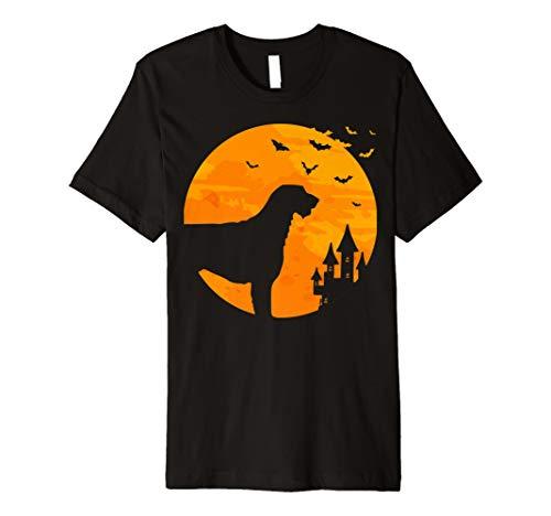 Irischer Wolfshund Tee Scary Halloween T Shirt