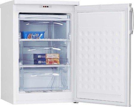 Amica GS 15424 W Gefrierschrankschrank / A++ / 84,50 cm Höhe / 131 kWh/Jahr / 80 Liter Kühlteil / Temperaturreglung / weiß