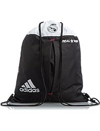 2014-2015 Real Madrid Adidas Gym Bag (White-Black)