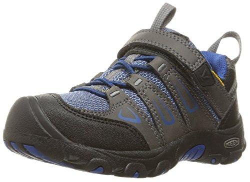 Keen Unisex-Kinder Oakridge Low WP Trekking-& Wanderhalbschuhe, Grau (Magnet/True Blue Magnet/True Blue), 27/28 EU