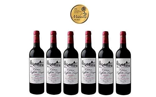 CHATEAU LAFFITTE LAUJAC - Grand Vin Rouge Bordeaux Médoc - 88/100 - Cru Bourgeois in 1932- AOP Médoc 2011 6 bottles Pack - Gold Medal in Concours International des Cabernets