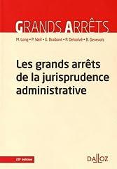 estimation pour le livre Les grands arrêts de la jurisprudence...