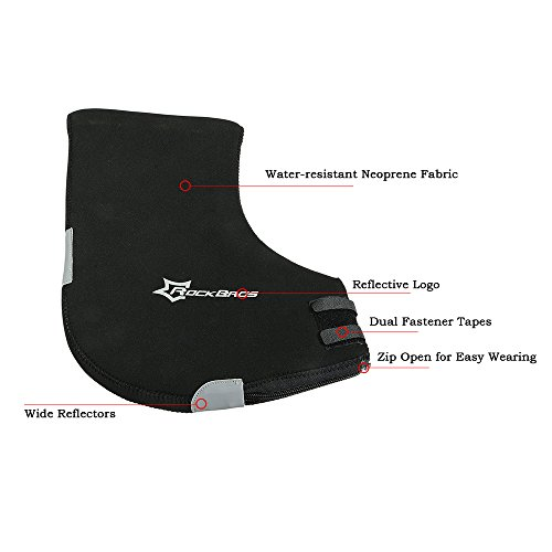 Docooler 1 Paar Lenkerhandschuhe/Radsport Handschuhe/Fahrrad Lenker Handschuhe Handwärmer Handabdeckungen Für MTB/Motor/Fahrrad, Dicke: 6mm/Wasserabweisendes Material - 7