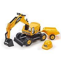 Falquet & Cie - 115A - Toy Excavator JCB + Trailer + Headphones