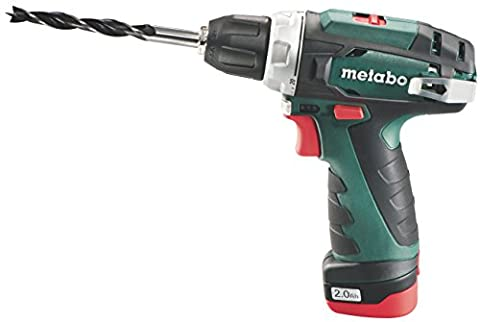 Metabo 600080500 10.8 V Powermaxx BS Drill Driver with 2