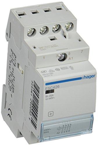 Hager ESC426Schütz, 25A, 4NC, 230V