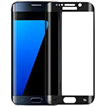 InShang Samsung Galaxy S6 edge protecteur d'écran en Verre Trempé,Super Résistant aux Chocs,ultra-clair,Protecteur d'écran de haute sensibilité,Full Screen 3D curve 100% fit Tmepered Screen protector