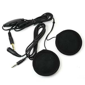 Mini Haut-parleurs MP3 Casque Moto Ecouteurs à fixer Pour Vélo Moto