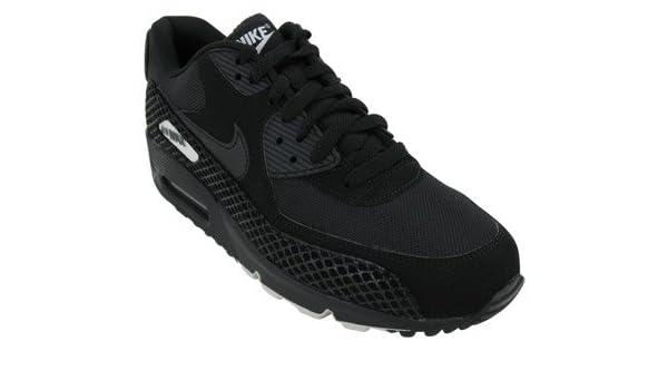 hot sale online ca459 acf1e Nike Air Max 90 Premium Black Tree Snake Trainers - 333888 090 (UK 6 US 7  EUR 40)  Amazon.co.uk  Shoes   Bags