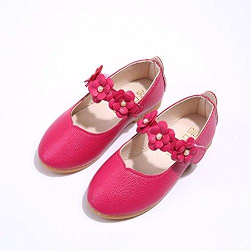 Bescita Kinder Schuhe Mädchen Mode Blume Kind Schuhe solide All Casual Schuhe passen heiß rosa