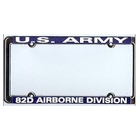 82nd Airborne Division License Plate Frame by TAG FRAMES (MILITARY)
