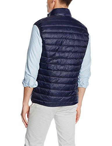Selected Shxsimple, Veste sans Manche Homme Bleu - Blau (Navy Blazer Detail:Zipper - Coral)