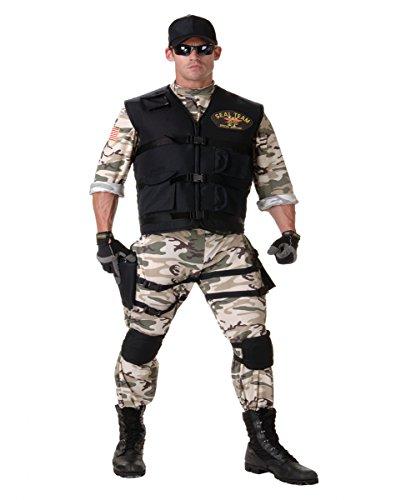 L Anzug XXL (Navy Seal Erwachsenen Kostüme)