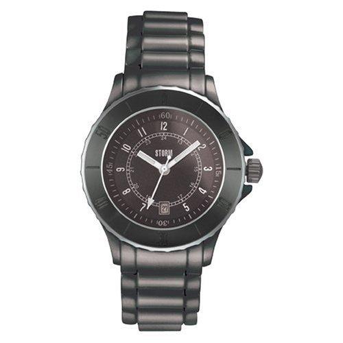 Storm Quarz 4534BK - Reloj unisex de cuarzo, correa de cerámica color negro