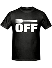 FORK OFF MENS T SHIRT,SIZES SMALL-2XL