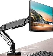 FITUEYES Monitor Desk Mount Stand Ergonomic Full Motion LCD Computer Screen Arm Gas Spring Swivel & Tilt f
