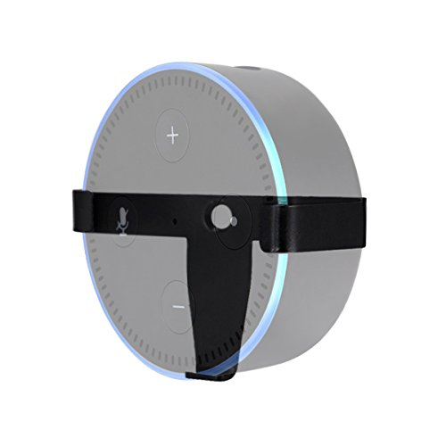 LANMU-Lautsprecher-Stnder-fr-Amazon-Echo-Lautsprecher-Stnder-Wandhalterung-Guard-Halterung-fr-Amazon-Echo-DOT2-verbessern-die-Stabilitt-der-Amazon-Echo-DOT2-und-kann-an-die-Wand-hngen