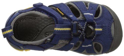 Keen Seacamp II CNX Kids Sandals Bleu (Blue Depths/Gargoyle)
