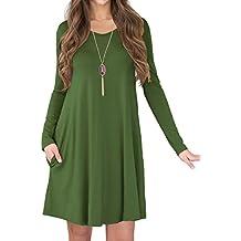 fcaaf7a83348c4 Suchergebnis auf Amazon.de für  grünes langes Kleid - LILBETTER