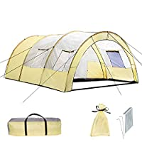 TecTake 800588 XXL Camping Tunnel Tent with Foyer 4-6 persons 29