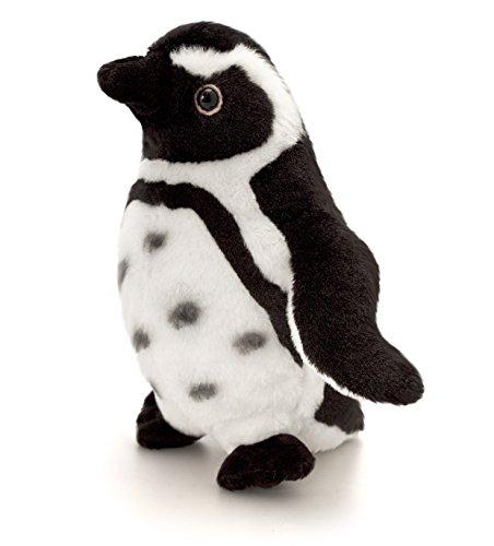 Lashuma Plüschtier Pinguin Schwarz - Weiß, Keel Toys Kuscheltier Humboldt Plüschpinguin 20 cm