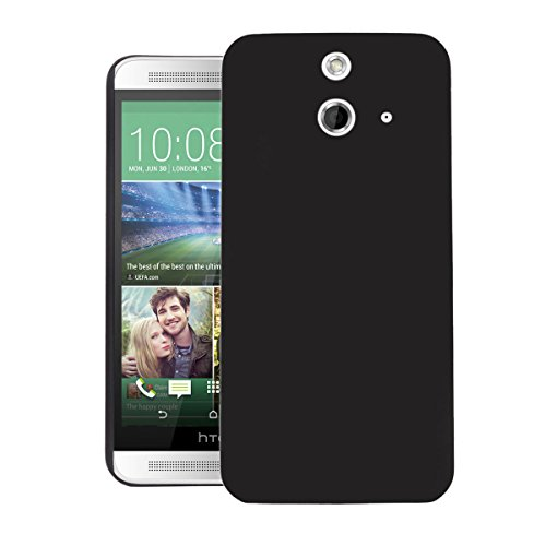 ZOUK Thin Fit Case for HTC One E8 Dual Sim Back Cover Sleek Rubberised Matte Hard Case Back Cover For HTC One E8 Dual Sim (Black)  available at amazon for Rs.250