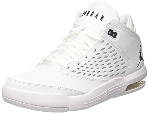 watch 8a522 616a4 Nike Jordan Flight Origin 4, Scarpe da Basket Uomo, Bianco (Whiteblack 100)