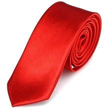 Cravatta DonDon Uomo 5 cm di larghezza - disponibile in diversi colori (Oro A Strisce Cravatta)
