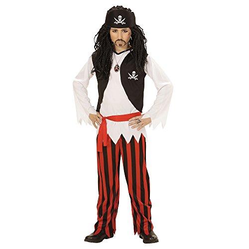 (WIDMANN 07238 Kinderkostüm Pirat, 158 cm)