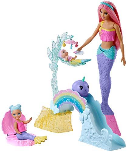 Barbie FXT25 - Dreamtopia Spielset und Puppe, Spielzeug ab 3 Jahren (Puppe Spielplatz)