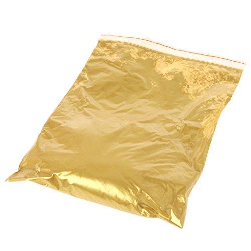 FlYHIGH Gold Pigment Perle Pulver Acrylfarbe Farbstoffbeschichtung Kunsthandwerk Farbe