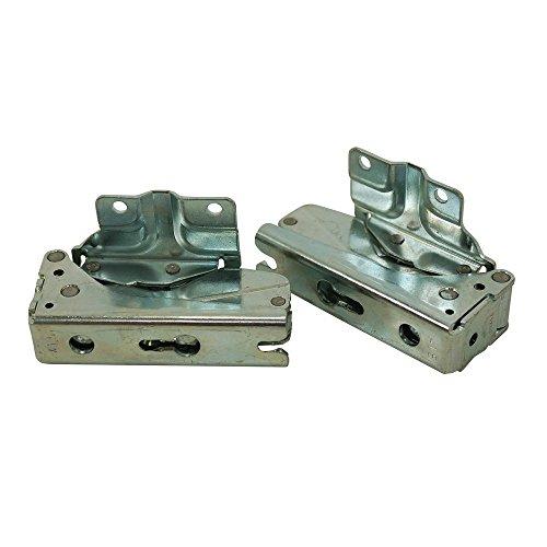 Bosch Neff Siemens Kühlschrank-Scharnier-Set, zwei Scharniere, ursprüngliche Teilenummern 267189+ 267190, Teilenummer des Herstellers: 12004051