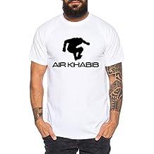 Tee Kiki Air Khabib Camiseta de Hombre Cool Fitness Sport Shirt