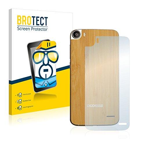 BROTECT Schutzfolie kompatibel mit Doogee F3 Pro (Rückseite) [2er Pack] klare Bildschirmschutz-Folie