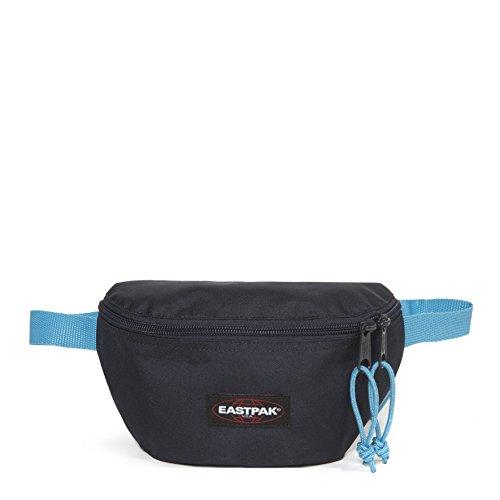 Eastpak Springer Marsupio Sportivo, 23 cm, 2 L, Blu (Navy-Aqua)