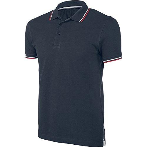 Kariban Mens Constrast Short Sleeve Polo Shirt Navy